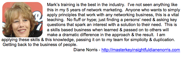 Diane Norris Testimonial