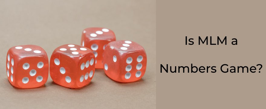 """It's A Numbers Game"" Prevents Success"