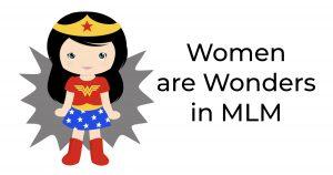 women in MLM