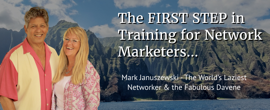 Training For Network Marketers; The Mandatory First Step